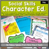 Character Education: Social Emotional Learning {Lessons, Activities, & Posters}
