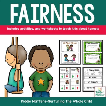 Fairness Character Education And Social Skills Activities 2837987 on Fair Sharing Kindergarten Worksheets