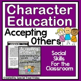Character Education Activities on Accepting Others for Morning Meetings