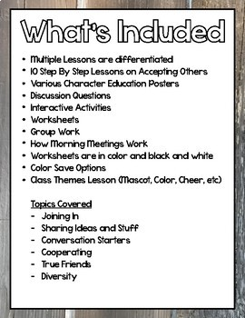 Kindness Activities Character Education and Social Skills