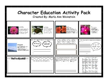Character Education Activity Pack