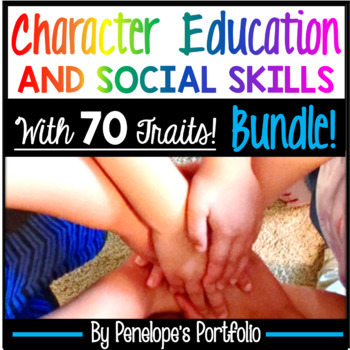 Character Education - Social Skills BUNDLE