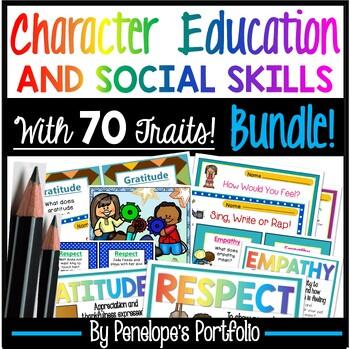 Character Education BUNDLE / Social Skills BUNDLE  #bundleupwithtpt