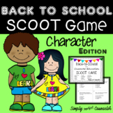 Character Education - Back-To-School - SCOOT Game