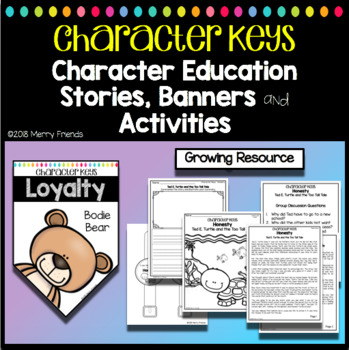 Character Education Banners, Stories and Activities