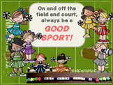 """Character Education- """"Be a Good Sport"""""""