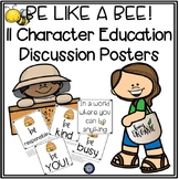 Character Education Bee Themed Posters