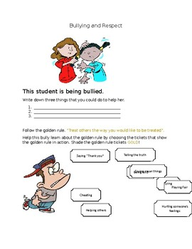 Character Education: Bullying and Respect