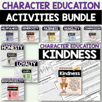 Character Education Bundle - 9 Resources