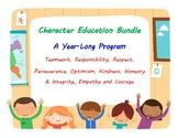 Character Education Bundle - A Year-Long Program