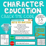 Character Education CRACK THE CODE (Grades 1-5)