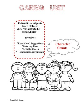 Character Education: Caring Unit