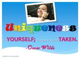 Customizable Character Ed: Differences Tolerance Acceptance Self Esteem