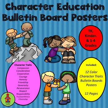 Character Education Bulletin Board Posters