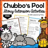 Character Education Chubbo's Pool Story Extension Actiivities