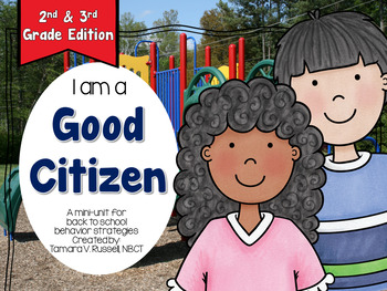 Character Education: Citizenship {Following the Rules} 2nd & 3rd Grade