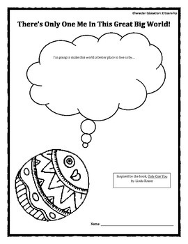 Character Education: Citizenship worksheet