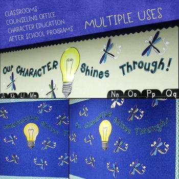 Character Education Classroom Decor Bulletin Board Set