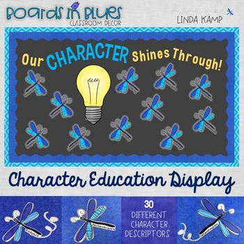 Character Education Classroom Decor Bulletin Board Set