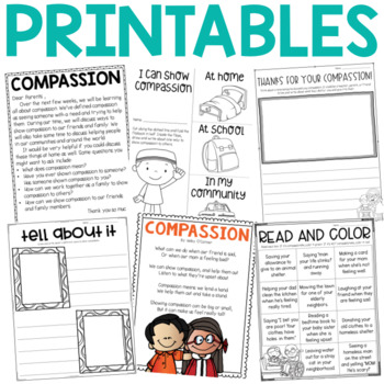 Character Education: Compassion {Lesson Plans and Activities}