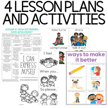 Character Education: Conflict Resolution {Lesson Plans and Activities}