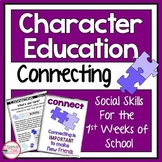 Character Education Activities on Connecting for Morning Meetings