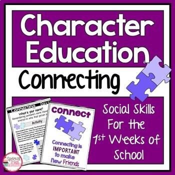 Community Building Activities Character Education and Social Skills
