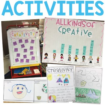Character Education: Creativity {Lesson Plans and Activities}