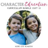 Character Education Bundle (Set 1 - SEL Lessons)