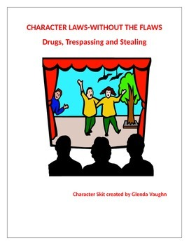 Character Values-Drug Free,Trespassing,Stealing, Language Arts