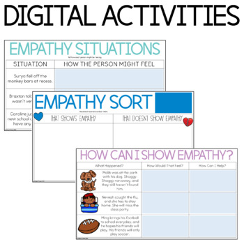 Character Education: Empathy {Lesson Plans and Activities}