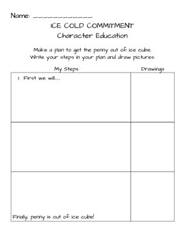 Character Education Experiment - Commitment