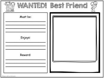 Character Education FREEBIE: Friendship