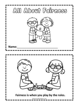 Character Education: Fairness Activities