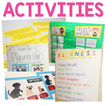 Character Education: Fairness {Lesson Plans and Activities}