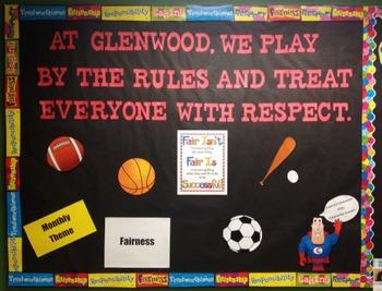 Character Education: Fairness bulletin board idea