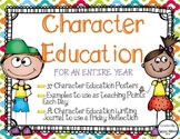 Character Education For the Entire School Year