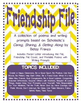 Character Education Friendship File