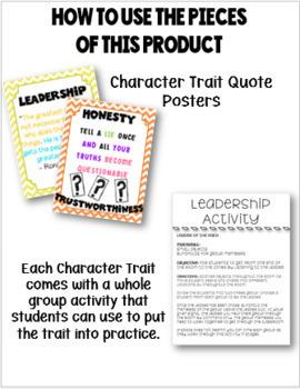Character Education GROWING BUNDLE