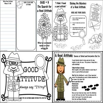 Good Attitude:Developing Good Study Skills