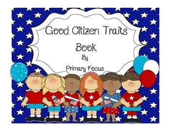 Character Education-Good Citizen Traits Book