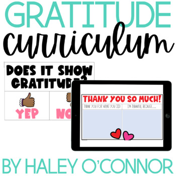 Character Education: Gratitude {Lesson Plans and Activities}