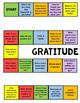 Character Education: Gratitude Lesson w/ Gratitude Journal
