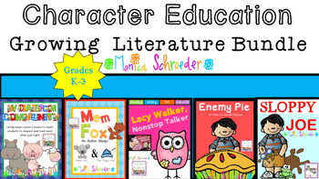 Character Education Lessons & Activities: Growing Bundle
