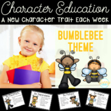 Character Education - 40+ Bumblebee Theme Character Traits