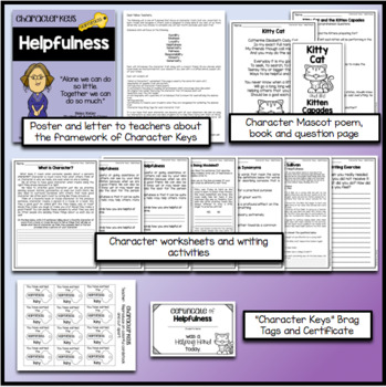 Character Education - Helpfulness - Worksheets and Activities