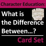 Character Education, Homeroom, and Life Skills Group Activity / Card Set