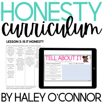 Social Emotional Learning: Honesty {Lesson Plans and Activities}