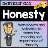 Character Education - Honesty - Worksheets and Activities