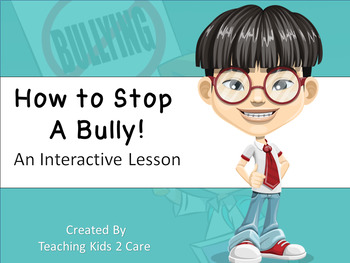 Character Education Interactive PowerPoint / Whiteboard Lesson Bundle